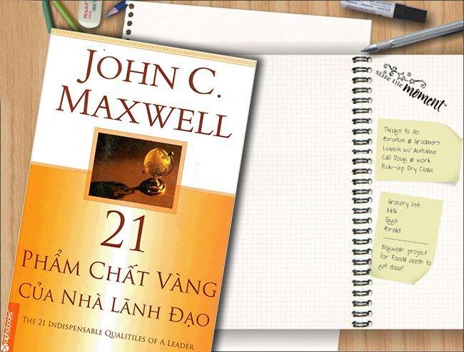 Nhà lãnh đạo giỏi thường có 21 phẩm chất vàng được đề cập trong cuốn sách này.