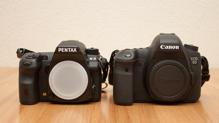 So sánh máy ảnh Pentax K-3 II và Canon EOS 6D