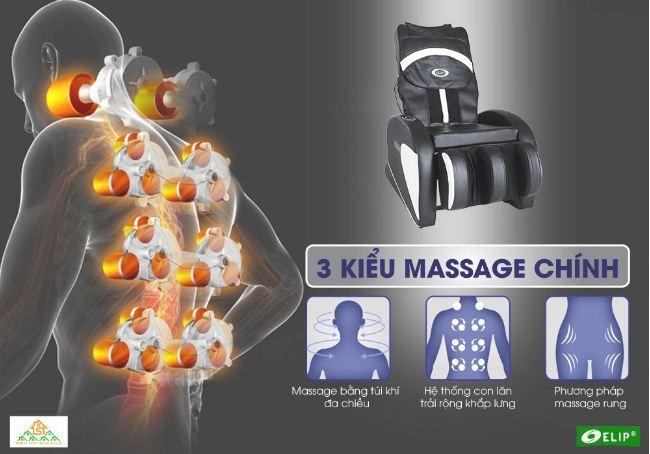 Ghế massage Elip Aristotle - Giá giảm 27% GIÁ CHỈ CÒN 9.900.000 VNĐ