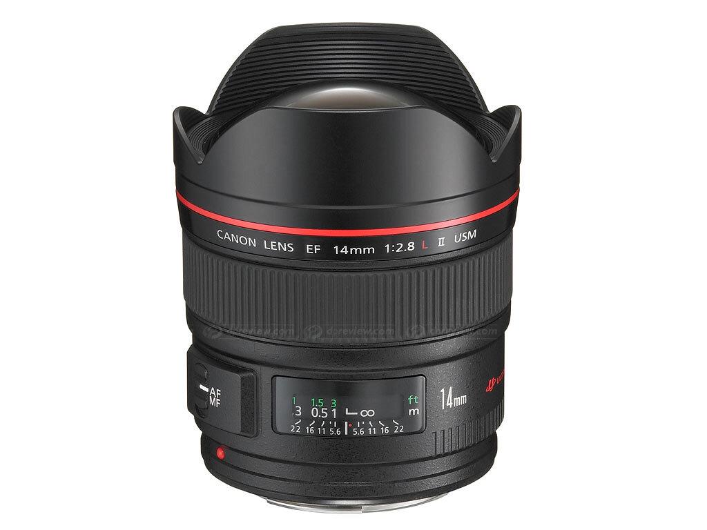 Lens fix của Canon EF 14mm f/2.8L II USM