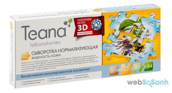collagen tươi bôi mặt của Nga Teana