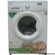 Máy giặt LG WD8990TDS êm dịu với làn da