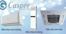 Điều hòa không khí Casper có những ưu điểm gì nổi bật ?