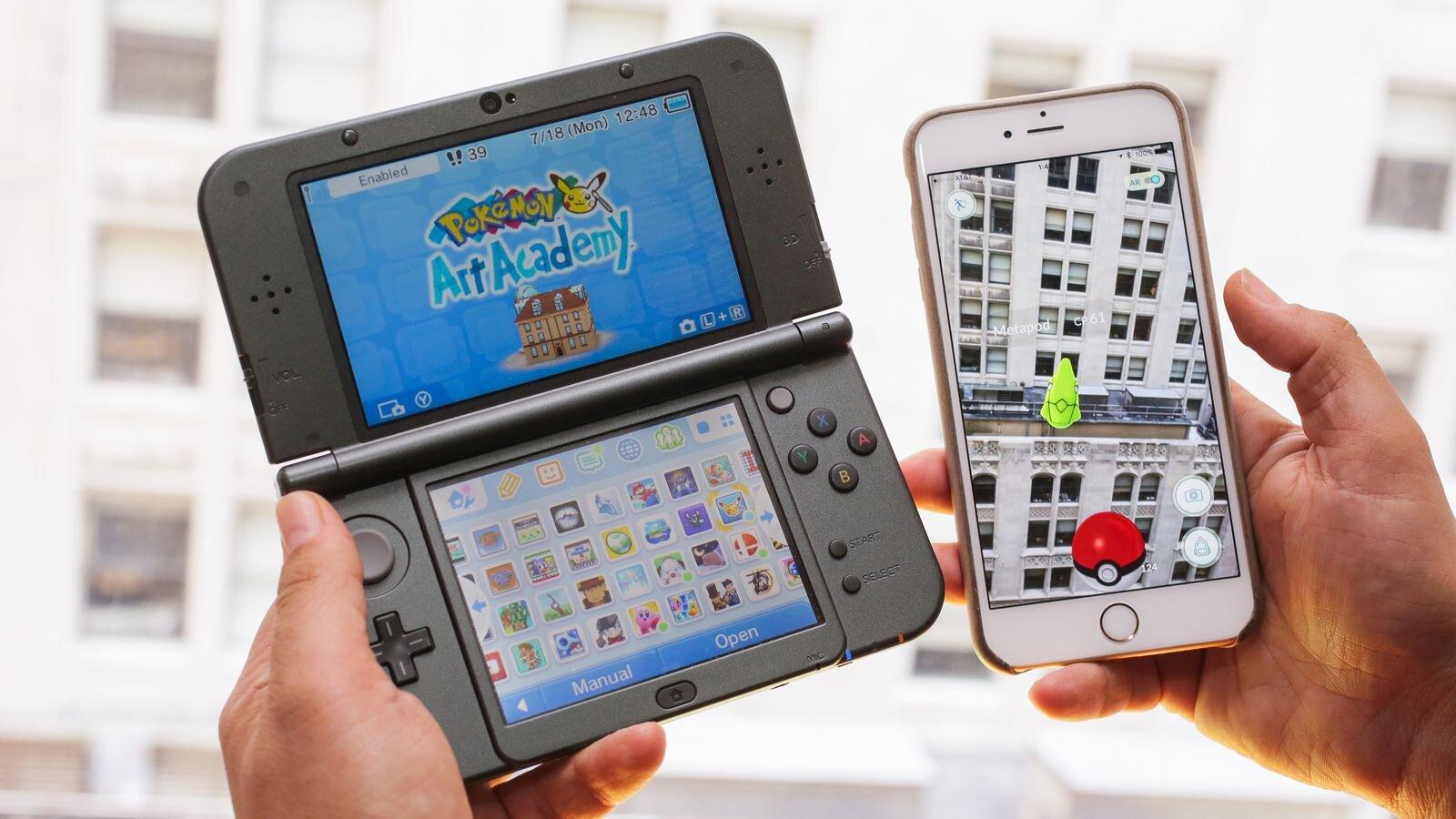 Chơi Pokemon Go trên Nintendo 3DS