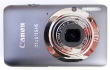Đánh giá máy ảnh du lịch Canon IXUS 115 HS