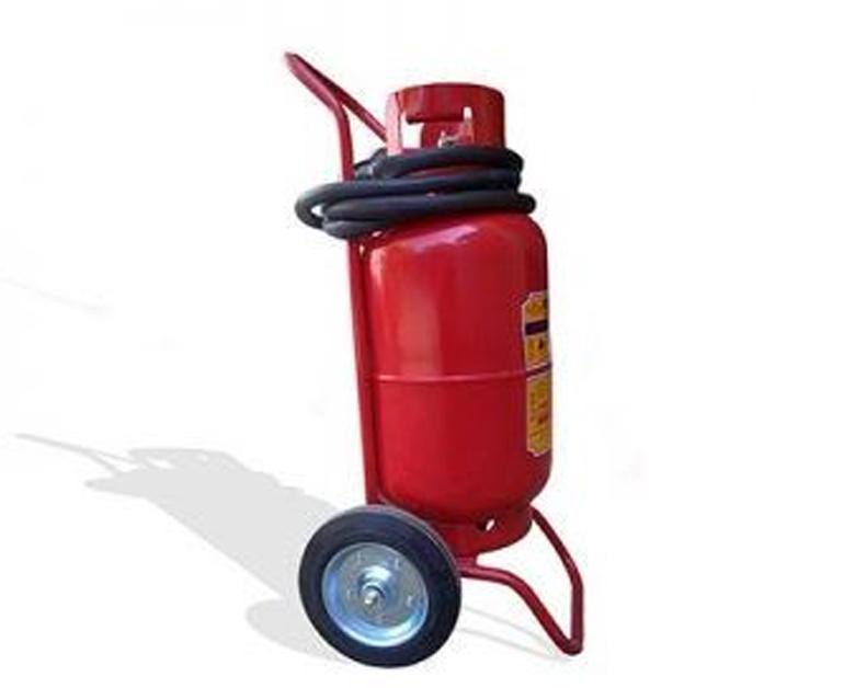 Bình chữa cháy có xe đẩy MFZL35 ABC