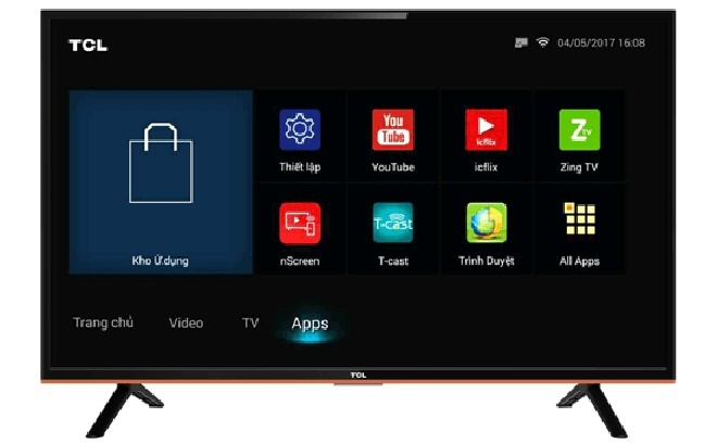 smart tivi giá rẻ TCL