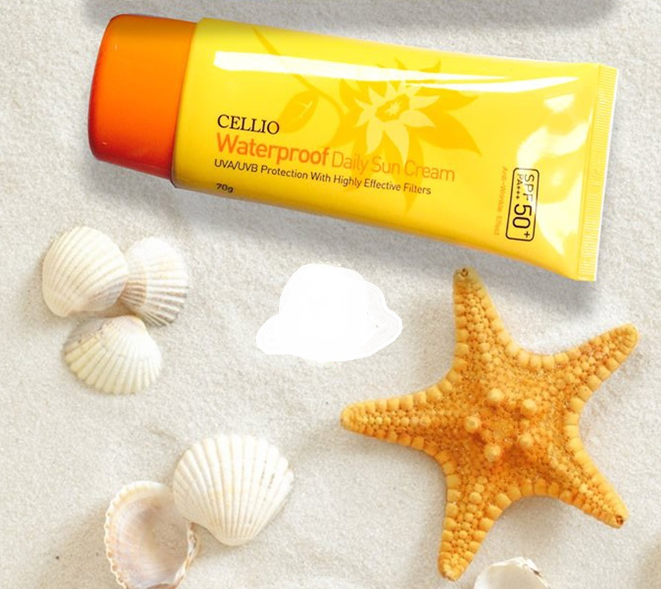 Kem chống nắng Cellio Waterproof Daily Sun Cream
