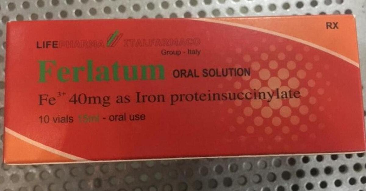 Bà bầu có nên sử dụng viên uống bổ sung sắt Ferlatum không ?