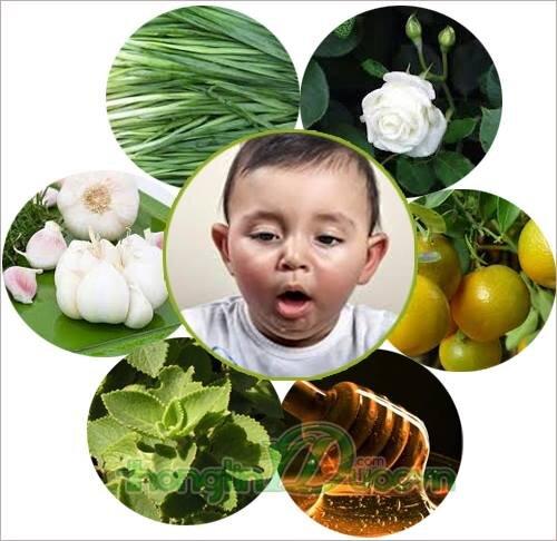 Bài thuốc dân gian trị ho cho trẻ hiệu nghiệm