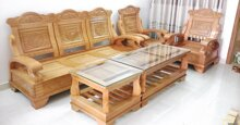 Bàn ghế gỗ phòng khách dưới 10 triệu có loại nào tốt?