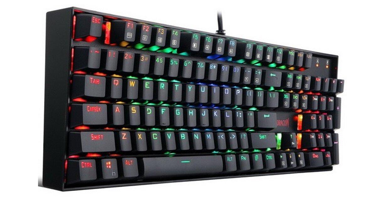 Bàn phím cơ Redragon Vara K551 RGB: Giá vừa phải, hiệu năng tốt