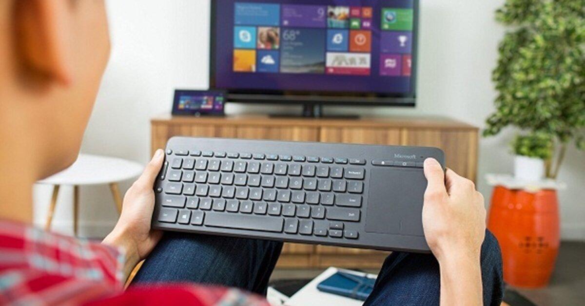Bàn phím không dây có sử dụng được cho tivi Panasonic không?