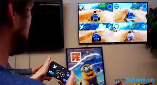 Bạn sẽ sớm có thể sử dụng điện thoại như tay game Android TV