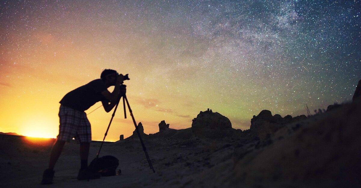 Bạn sẽ thấy bất ngờ khi áp dụng mẹo chụp ảnh thiên văn này
