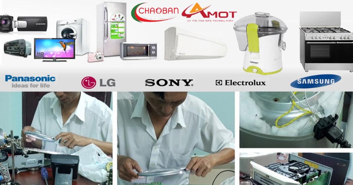 Bán và cung cấp dịch vụ sửa chữa, bảo trì, bảo hành các sản phẩm Điện lạnh – Điện gia dụng – Điện tử & Âm thanh tốt nhất tại tp.HCM – chaoban.com.vn