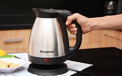 Bảng giá ấm đun nước siêu tốc Kangaroo cập nhật tháng 12/2015