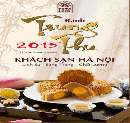 Bảng giá bánh trung thu Khách sạn Hà Nội 2015