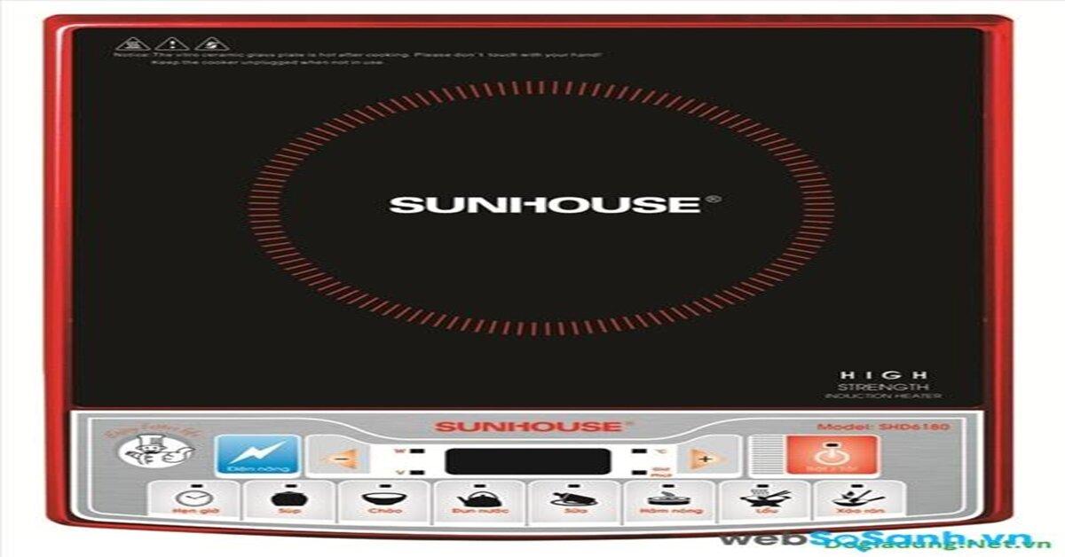 Bảng giá bếp điện tử Sunhouse mới nhất thị trường