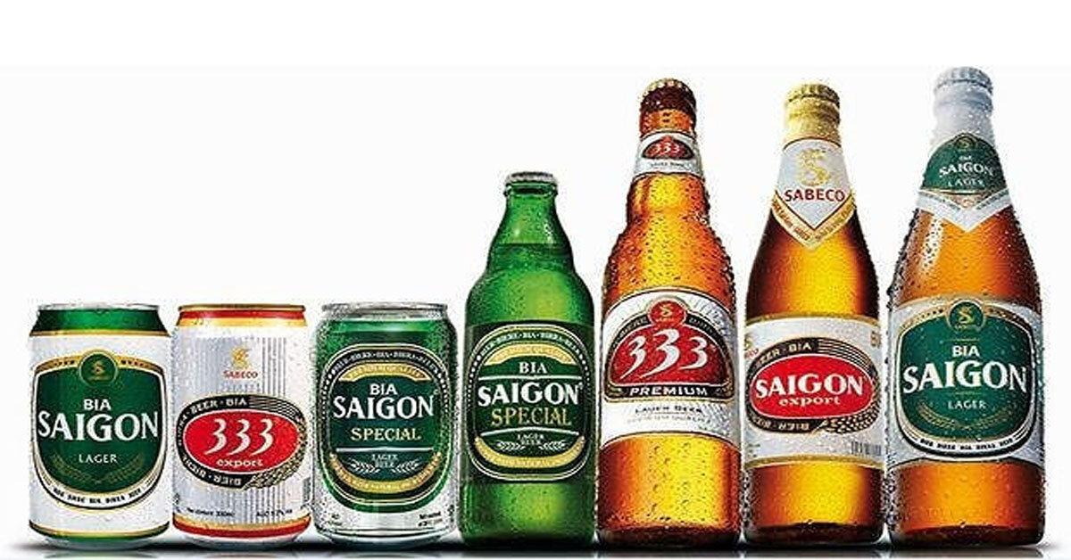 Bảng giá bia Sài Gòn, bia 333 Tết Nguyên Đán 2019