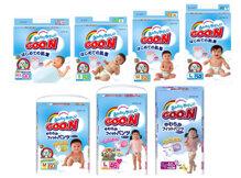 Bảng giá bỉm Goon cập nhật tháng 12/2016