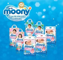 Bảng giá bỉm quần Moony chính hãng cập nhật tháng 8/2017