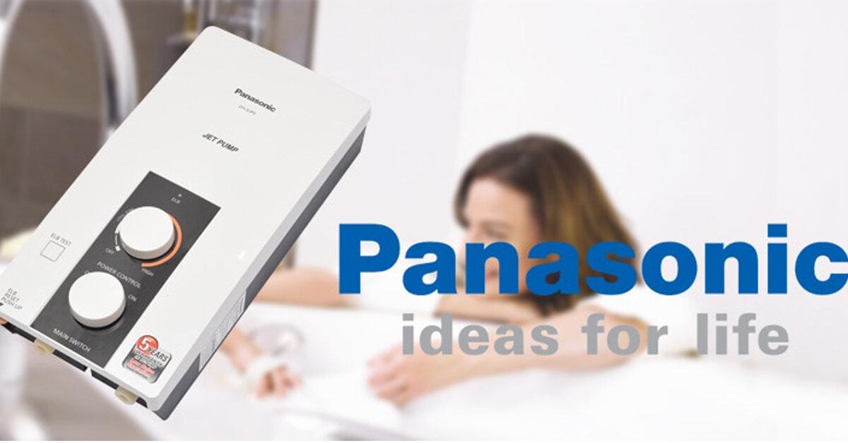Bảng giá bình nóng lạnh trực tiếp Panasonic cập nhật mới nhất tháng 01/2019