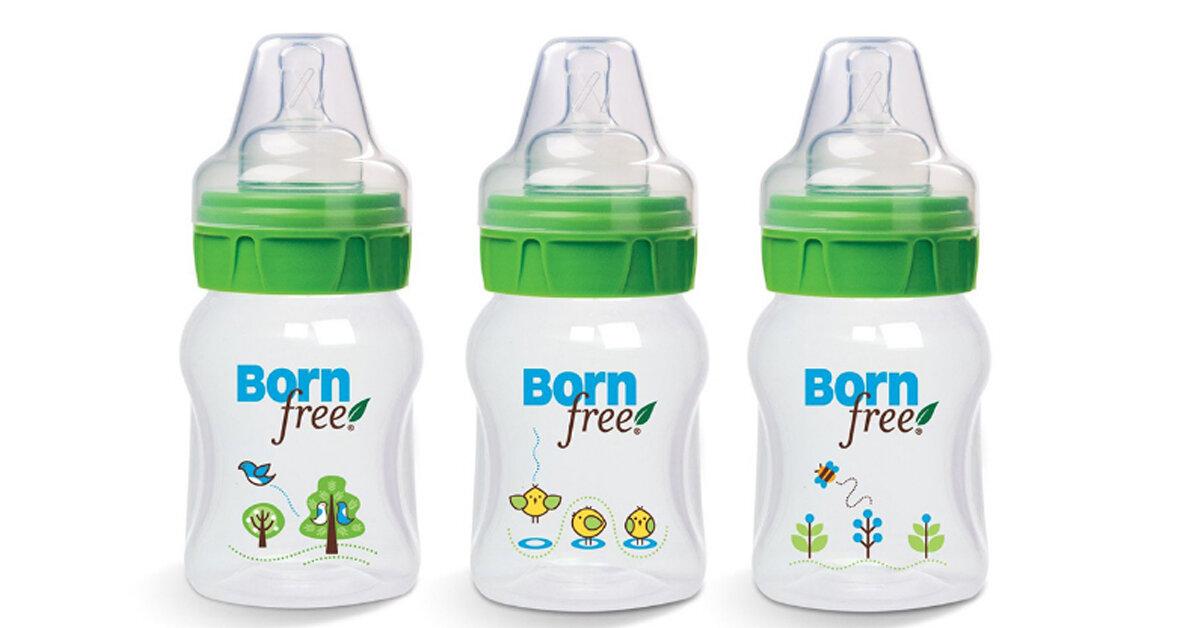 Bảng giá bình sữa Born Free cập nhật mới nhất tháng 2/2018