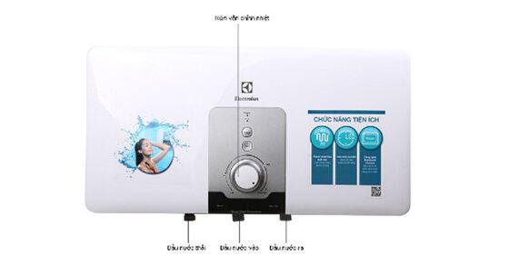 Bảng giá bình tắm nóng lạnh Electrolux cập nhật mới nhất tháng 8/2018