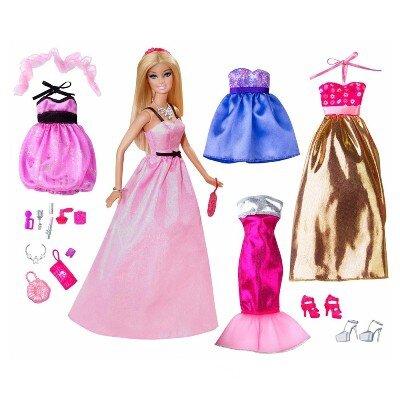 Bảng giá búp bê Barbie cho bé cập nhật tháng 12/2016