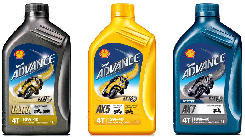 Bảng giá các loại dầu nhớt dành cho xe máy
