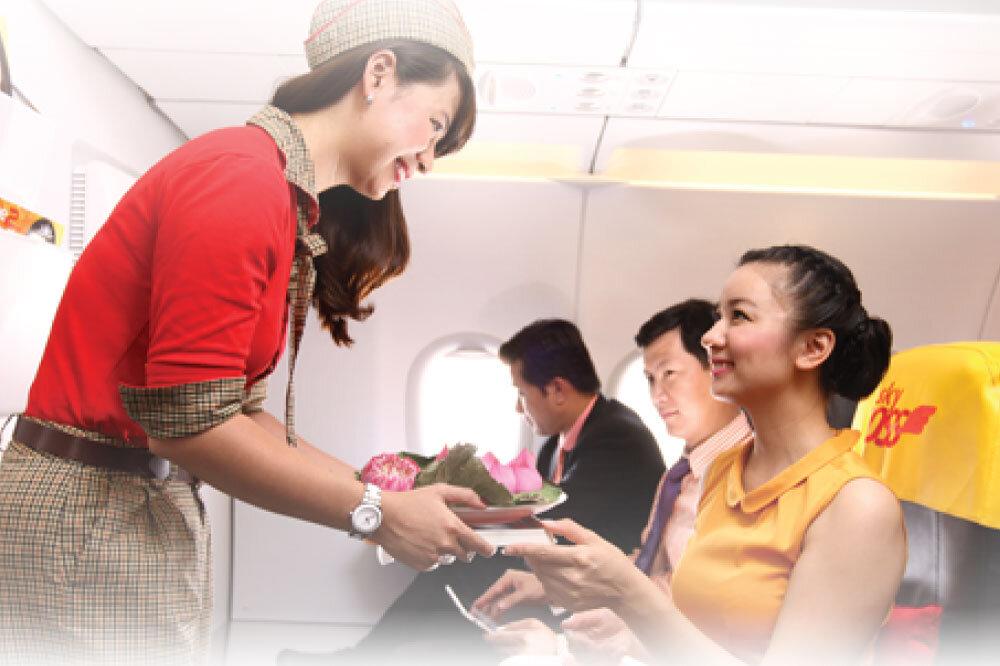 Bảng giá các loại phí và lệ phí áp dụng cho hãng hàng không Vietjet Air