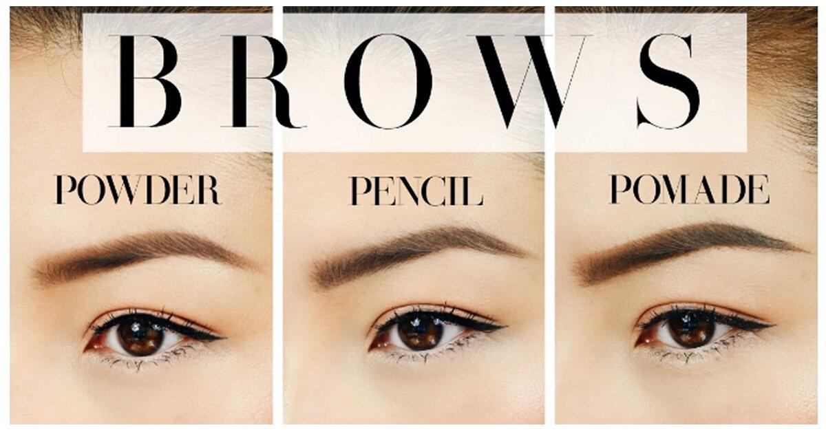 """Bảng giá các loại sản phẩm gel chân mày makeup nhất định phải thử 1 lần để """"đốn tim"""" phái mạnh"""