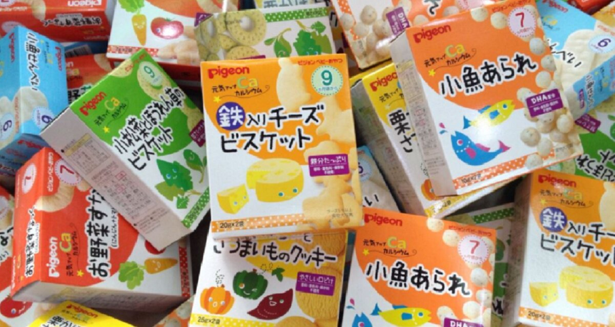 Bảng giá các thực phẩm ăn dặm cho bé Pigeon Nhật Bản cập nhật tháng 1/2018