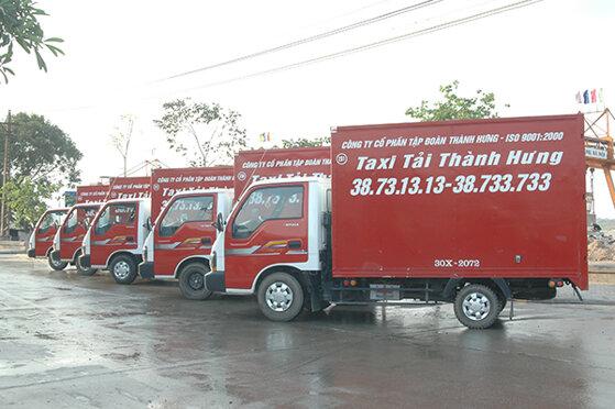 Bảng giá cước taxi tải Thành Hưng cập nhật mới nhất năm 2019