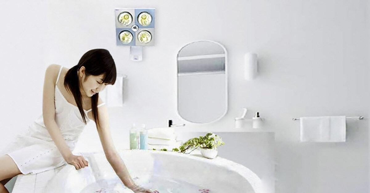 Bảng giá đèn sưởi nhà tắm loại 3 bóng cập nhật tháng 10/2018