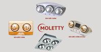 Bảng giá đèn sưởi nhà tắm Moletty cập nhật tháng 12/2018