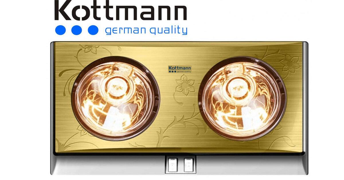 Bảng giá đèn sưởi nhà tắm Kottmann cập nhật tháng 12/2017