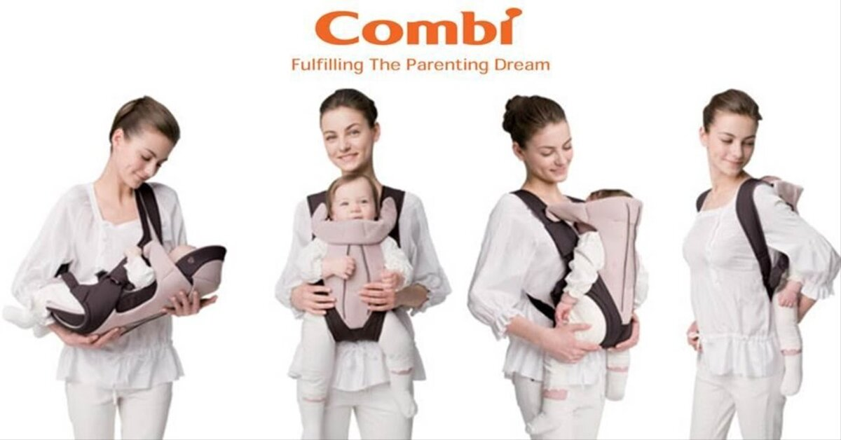 Bảng giá địu em bé Combi cập nhật tháng 10/2018