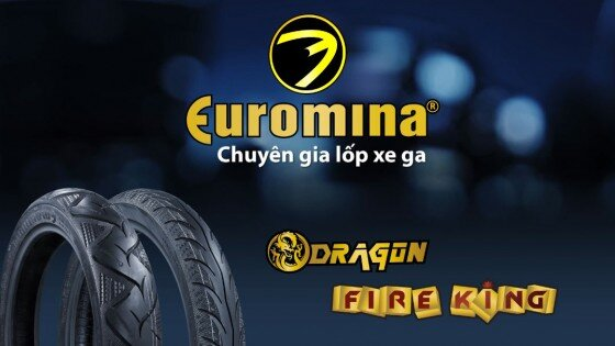Bảng giá lốp xe máy không săm Euromina cập nhật thị trường năm 2016