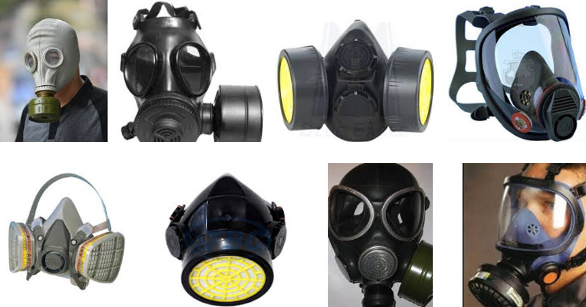 Bảng giá mặt nạ phòng chống khí độc các loại trên thị trường hiện nay