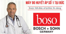 Bảng giá máy đo huyết áp Boso chính hãng rẻ nhất thị trường năm 2018