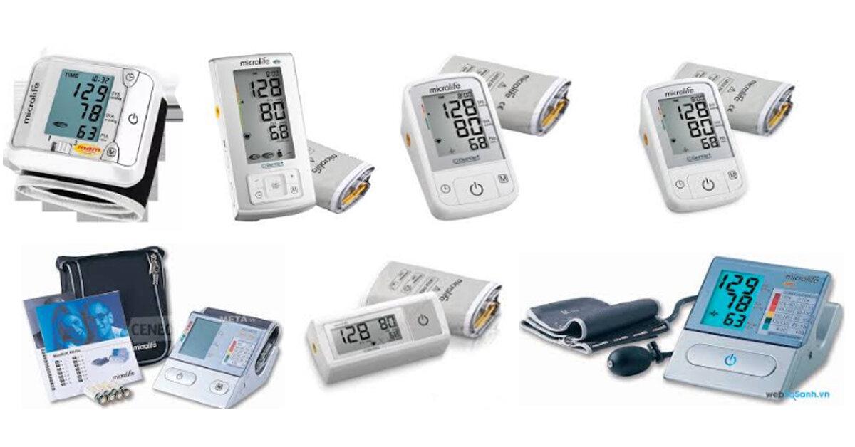 Bảng giá máy đo huyết áp Microlife được cập nhật mới nhất trên thị trường năm 2018