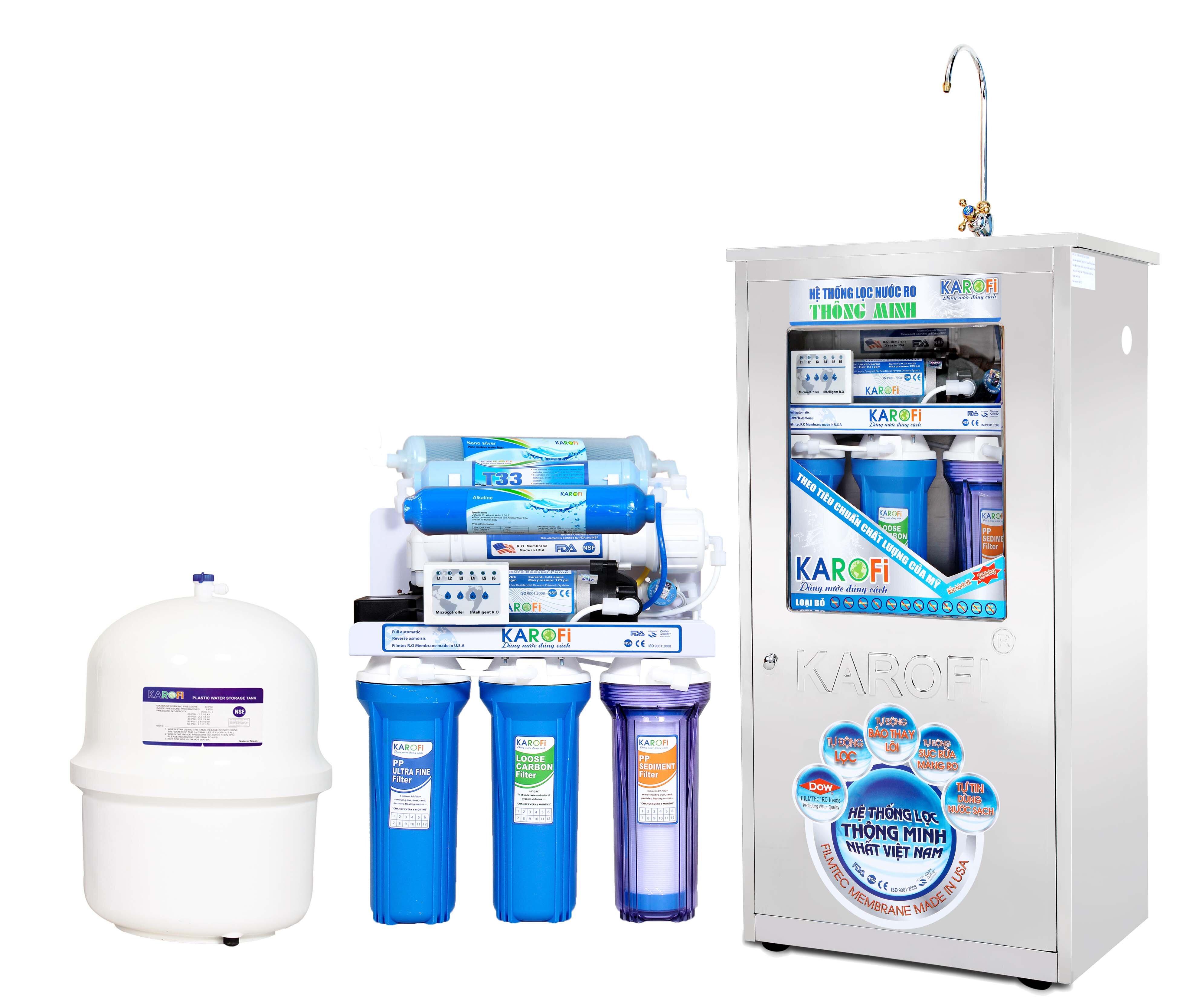 Bảng giá máy lọc nước RO công suất 50 lít/ giờ cập nhật 5/2015