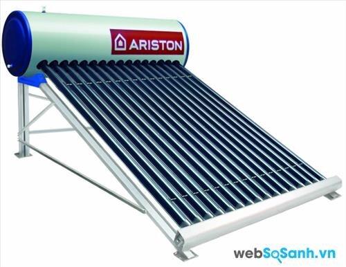 Bảng giá máy nước nóng năng lượng mặt trời Ariston (tháng 1/2016)