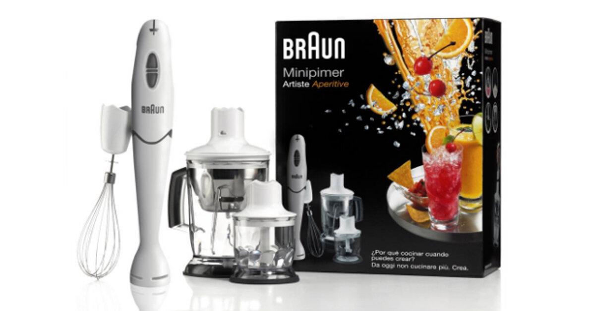 Bảng giá máy xay cầm tay Braun cập nhật tháng 2/2019