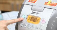 Bảng giá nồi cơm điện tử Sharp cập nhật mới nhất tháng 7/2018