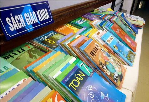 Bảng giá sách giáo khoa THCS năm học 2015 – 1016