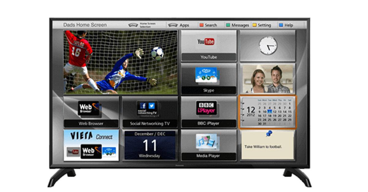 Bảng giá Smart Tivi Panasonic cập nhật mới nhất thị trường tháng 4/2019
