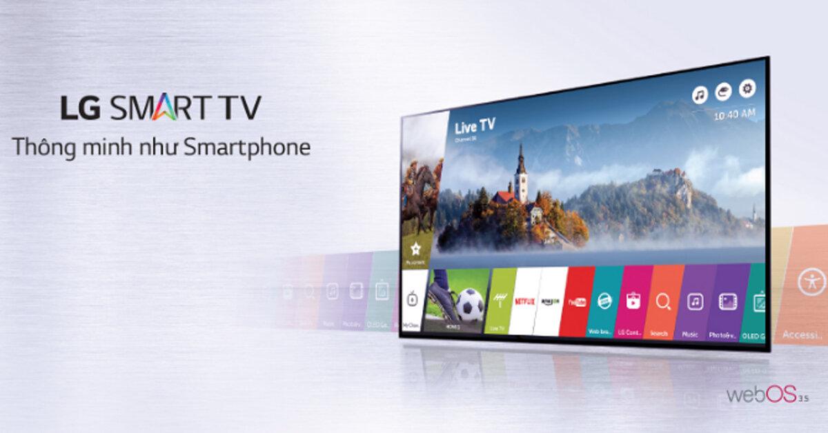 Bảng giá Smarttivi LGđược cập nhật mới nhất tháng 5/2019